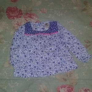 Baby girl floral print top